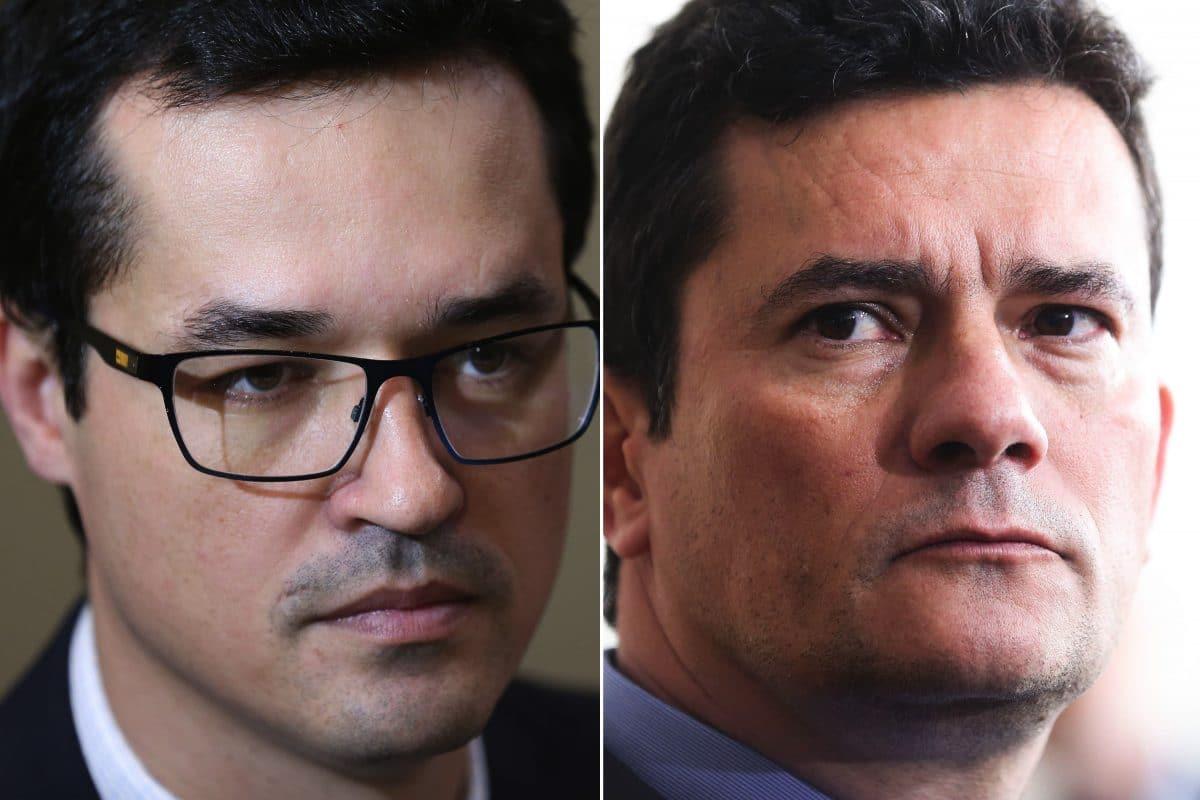 Deltan Dallagnol e Sérgio Moro