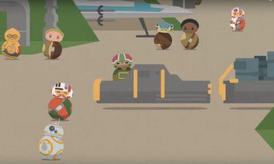 Star Wars Roll Out, nova série de curtas animados, estreia mundialmente esta semana