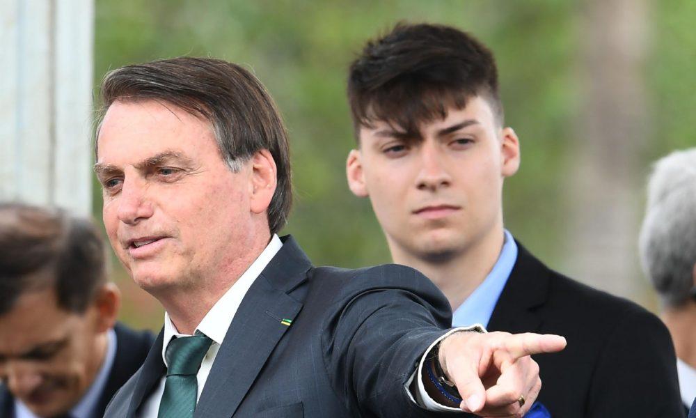 Bolsonaro e Jair Renan