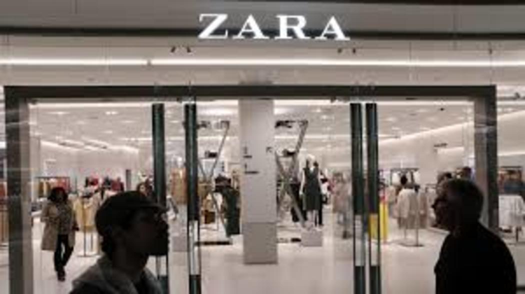 O grupo dono da Zara anuncia fechamento de 1.200 lojas após