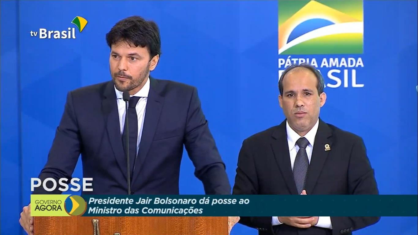 Ao vivo: Fábio Faria toma posse do Ministério das Comunicações - Jornal de  Brasília