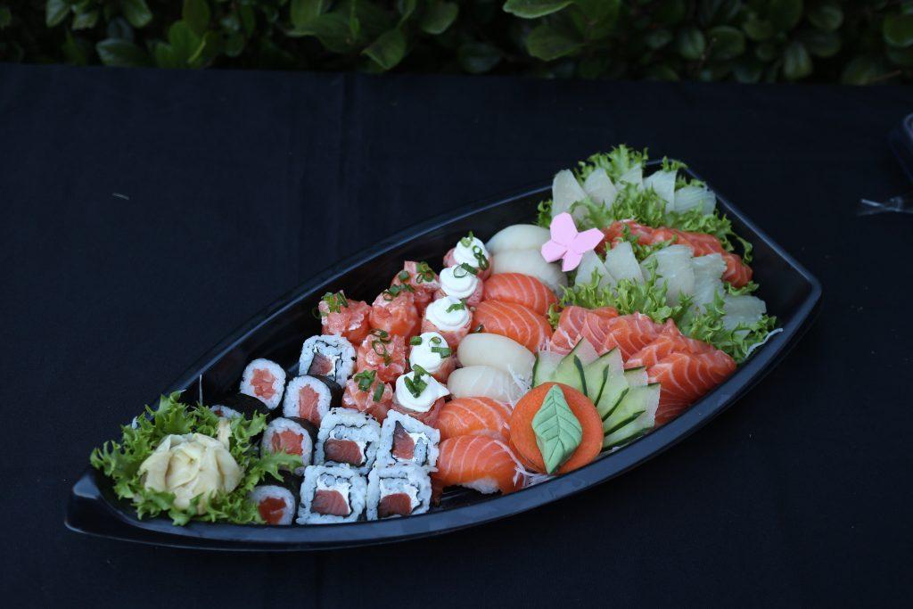 Combinados de sushi serão uma das atrações gastronômicas da quermesse (Foto: Divulgação)