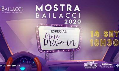 Academia de dança lança Mostra no Cine Drive-In para promover apresentação de alunos em meio à quarentena