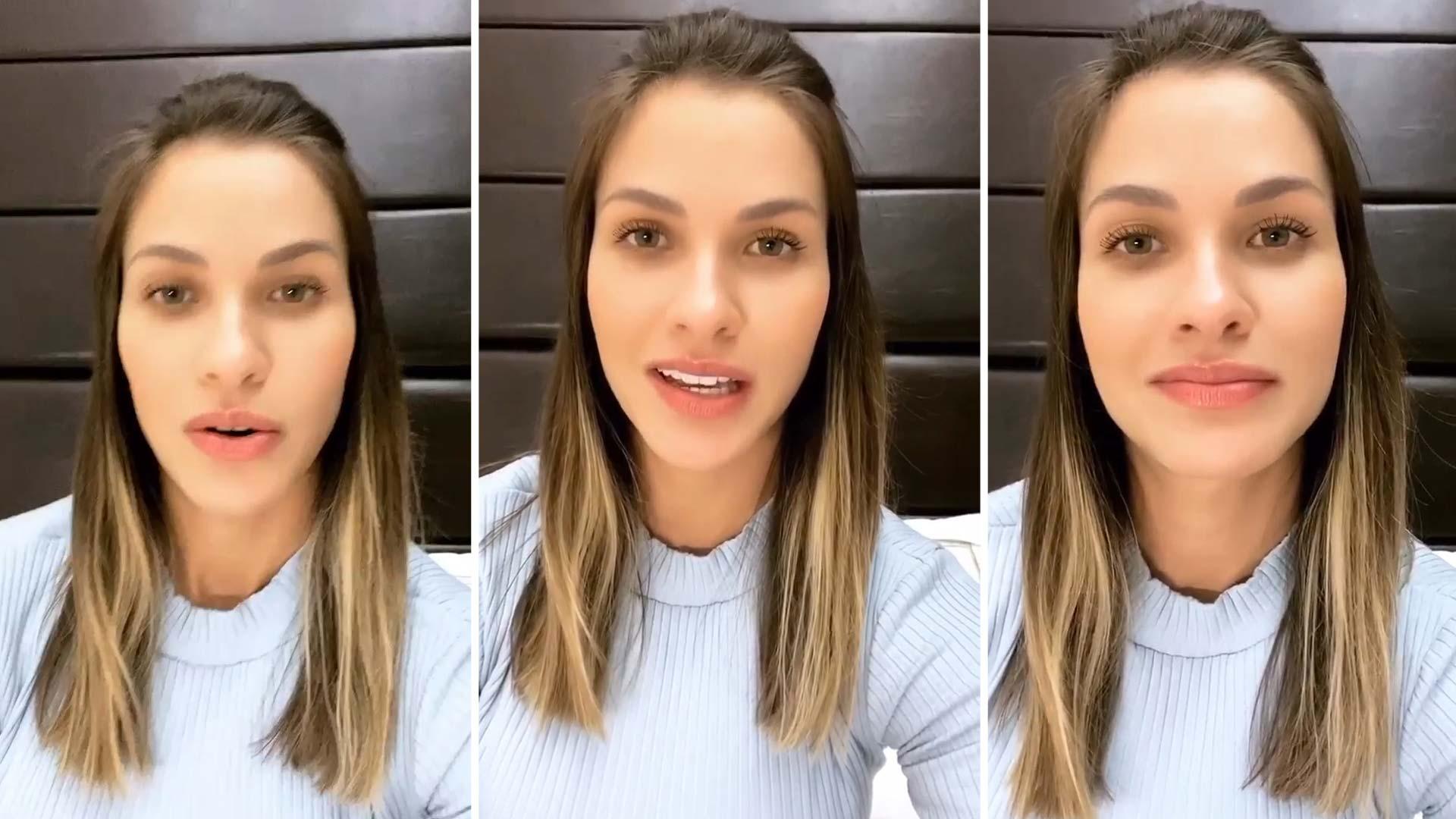 """Andressa Suita fala pela primeira vez sobre a separação de Gusttavo Lima """"Fui comunicada de madrugada que não dava mais"""""""