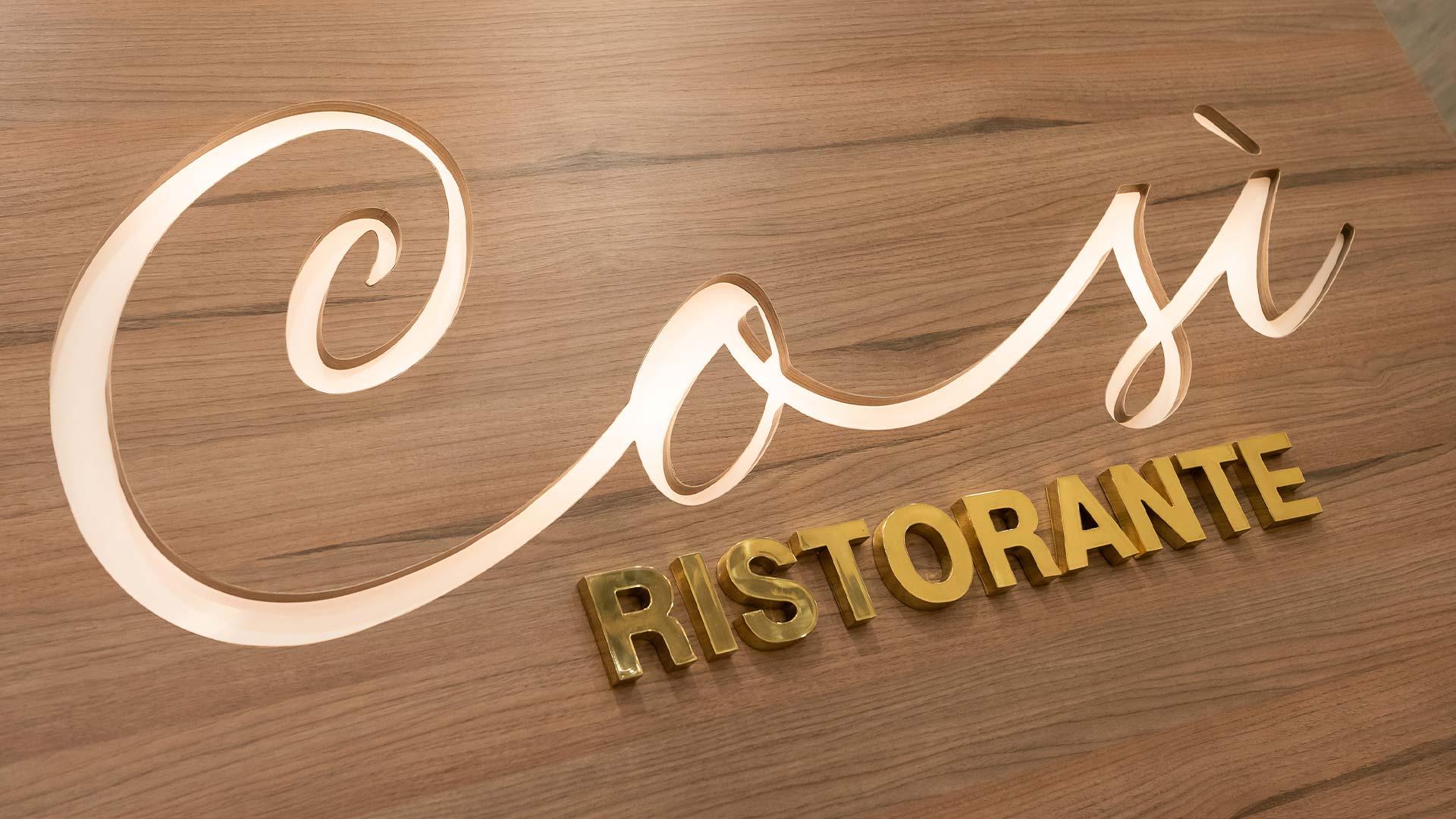 Restaurante Così participa do Restaurant Week
