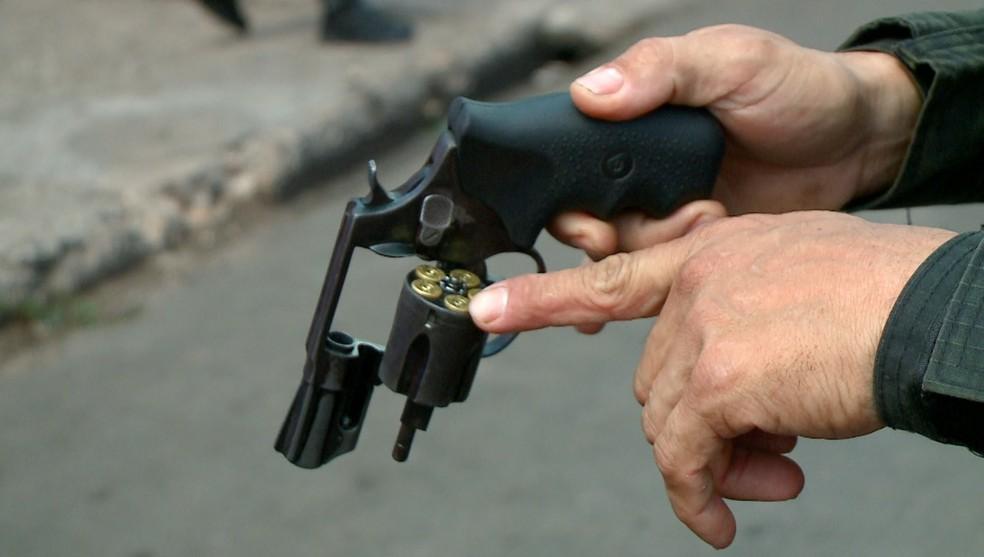arma tiro