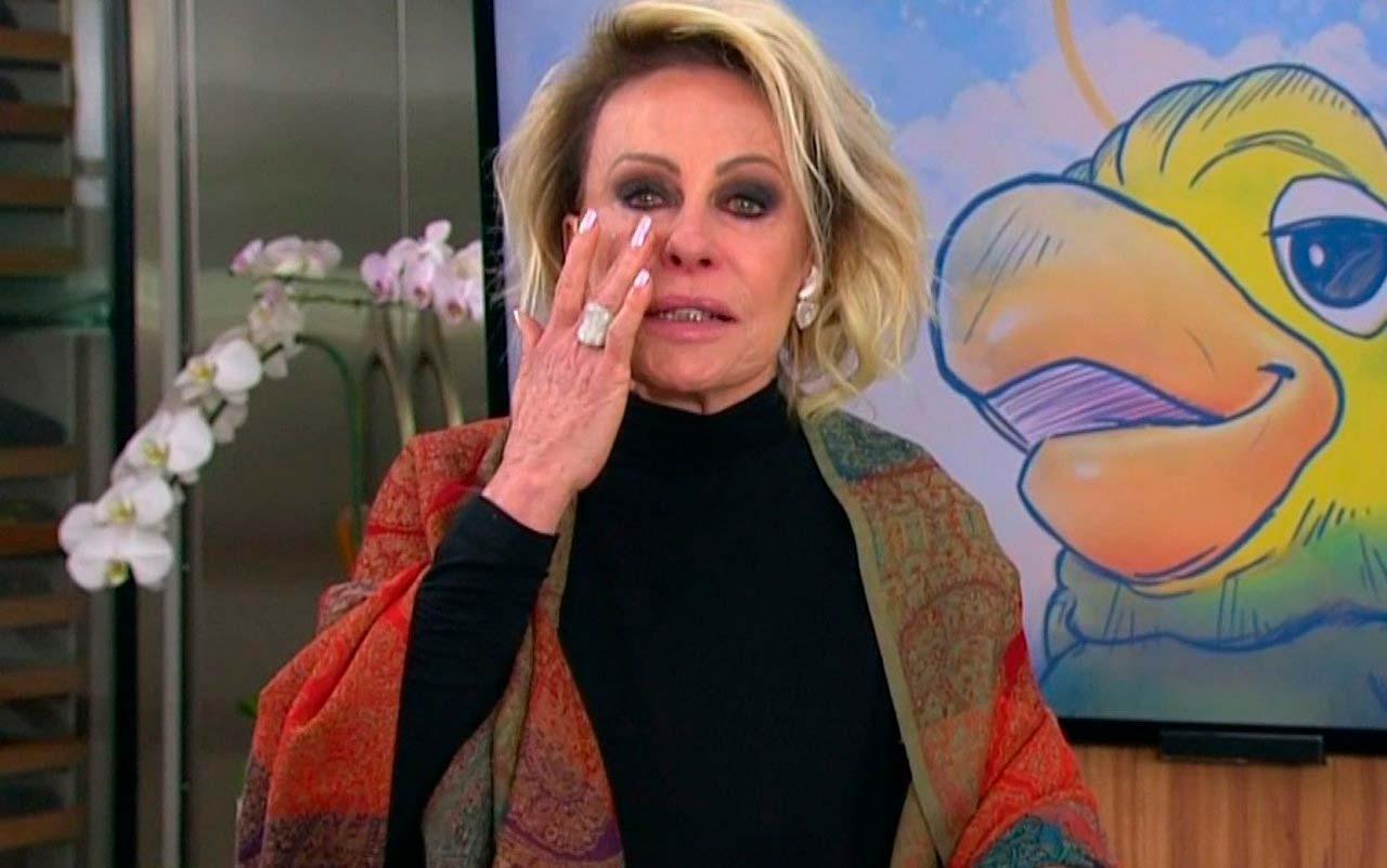 Ana Maria Braga se despede emocionada do amigo e companheiro de trabalho. Foto: Reprodução/TV Globo