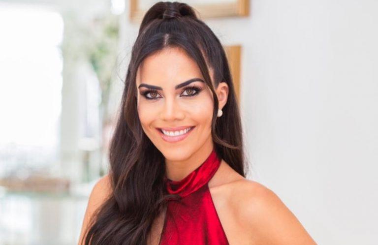Daniela Albuquerque é a madrinha de honra da campanha