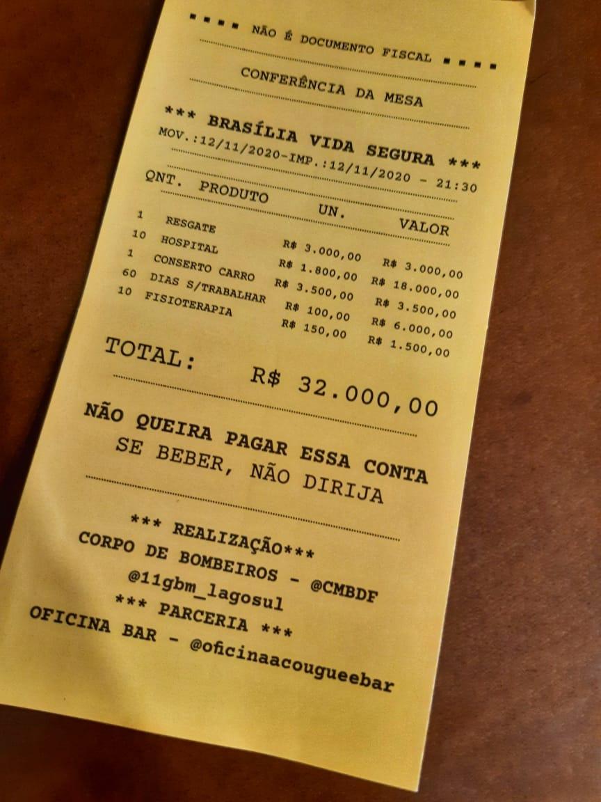 Foto: Divulgação/CBMDF