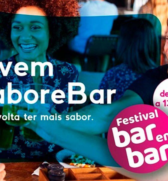 Para os amantes da comida de boteco, Abrasel promove Festival Bar em Bar