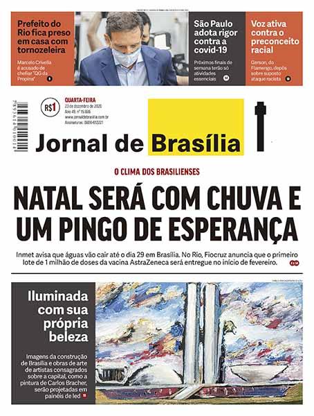 Edição digital Jornal de Brasília