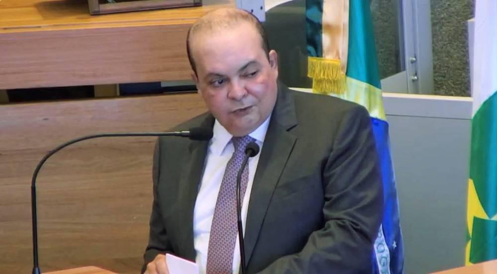 Governador do Distrito Federal Ibaneis Rocha. Foto: Reprodução/CLDF TV