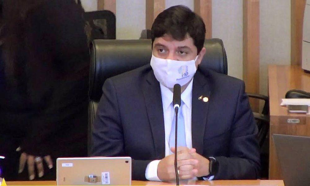 Deputado Rodrigo Delmasso. Foto: Reprodução/CLDF TV