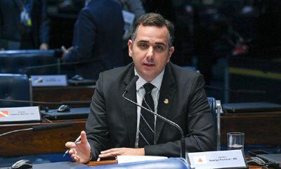 Senador Rodrigo Pacheco. Foto: Agência Senado