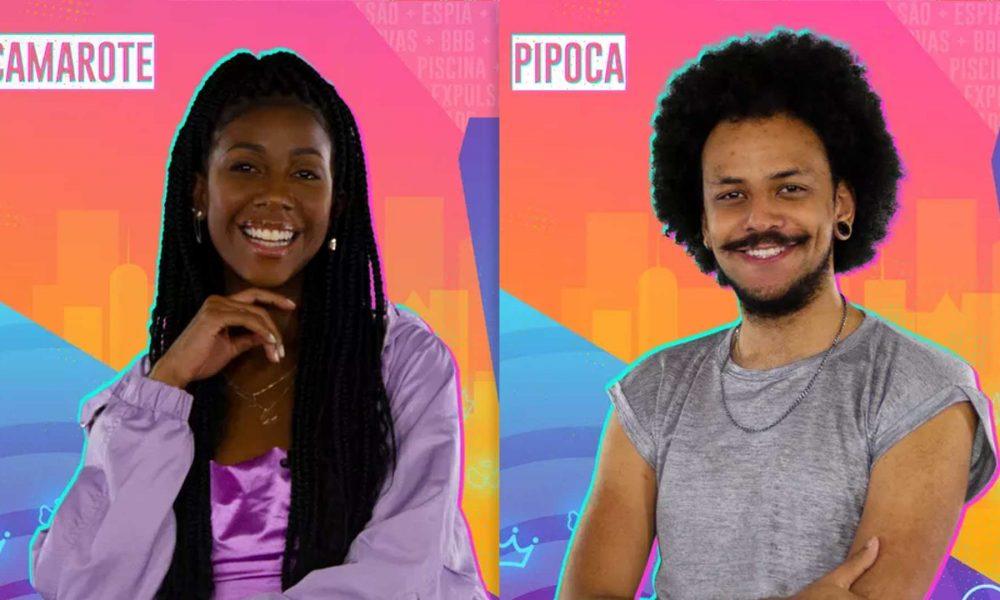 Influencer Camilla de Lucas e o professor João Luiz entram no BBB