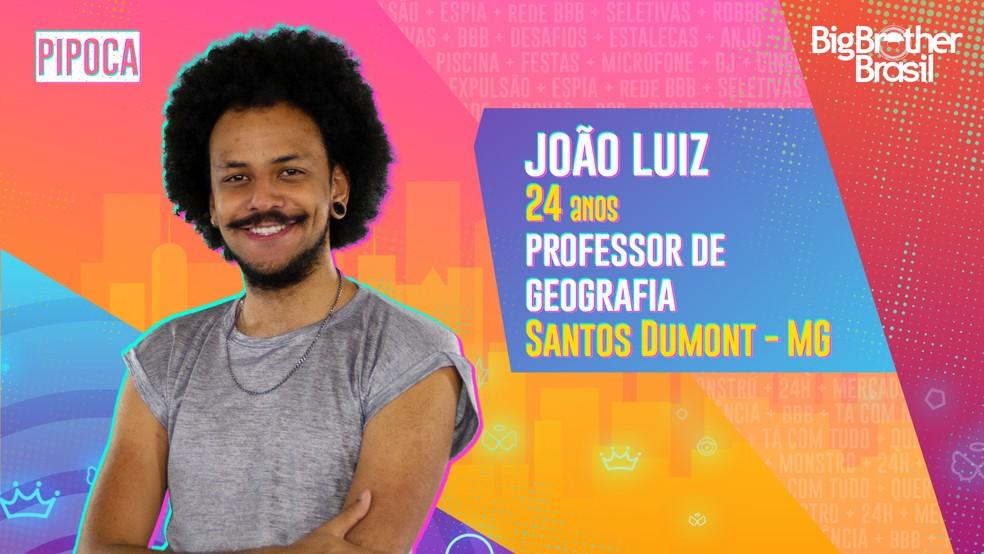 João Luiz. Reprodução/TV Globo