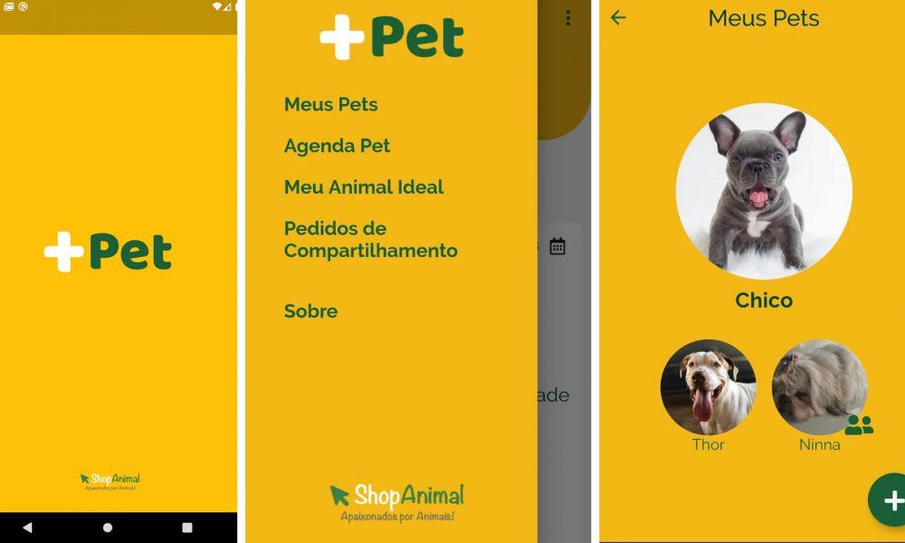 + Pet: Aplicativo gratuito desenvolvido no DF facilita a vida de donos de bichinhos