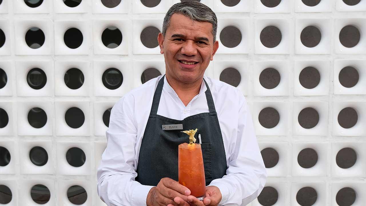 Eli Nunes, o novo Barman do B Hotel. Foto: B Hotel