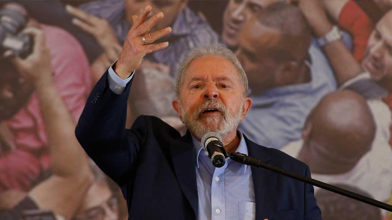 Ex-presidente Lula. Foto: Miguel SCHINCARIOL / AFP