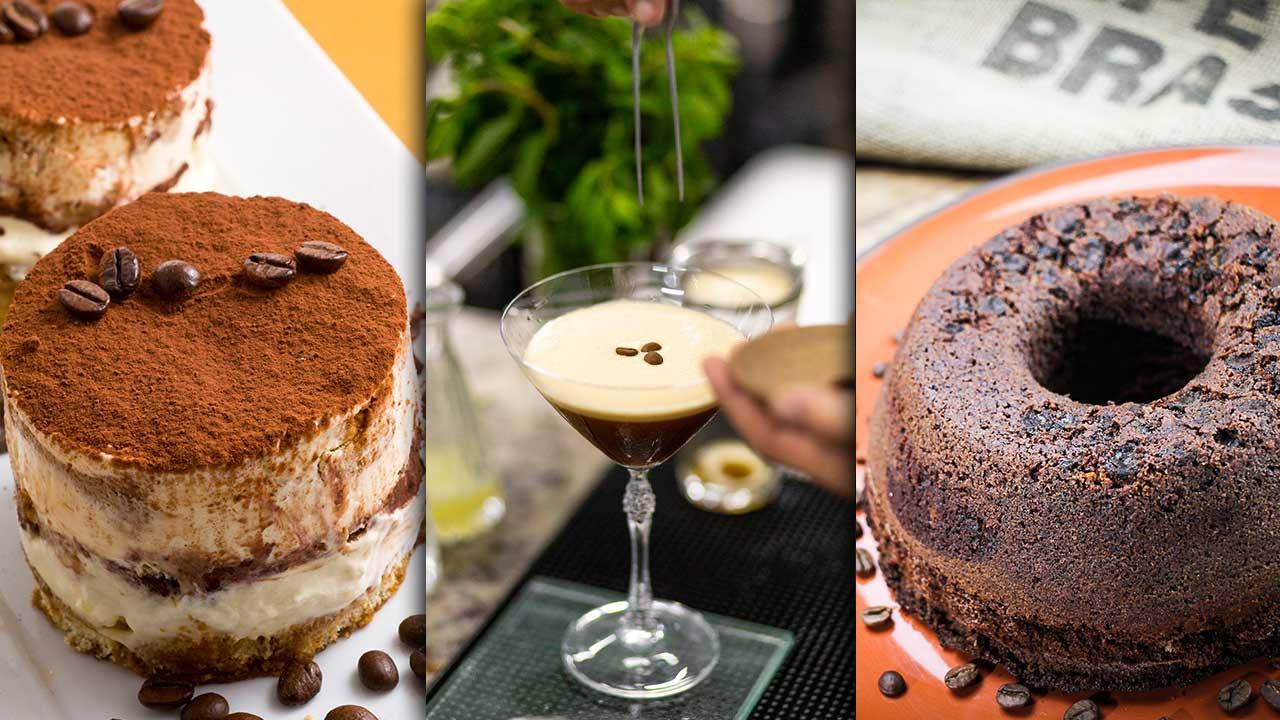 Dia Mundial do Café: 3 receitas incríveis para celebrar e se deliciar com a versatilidade do grão