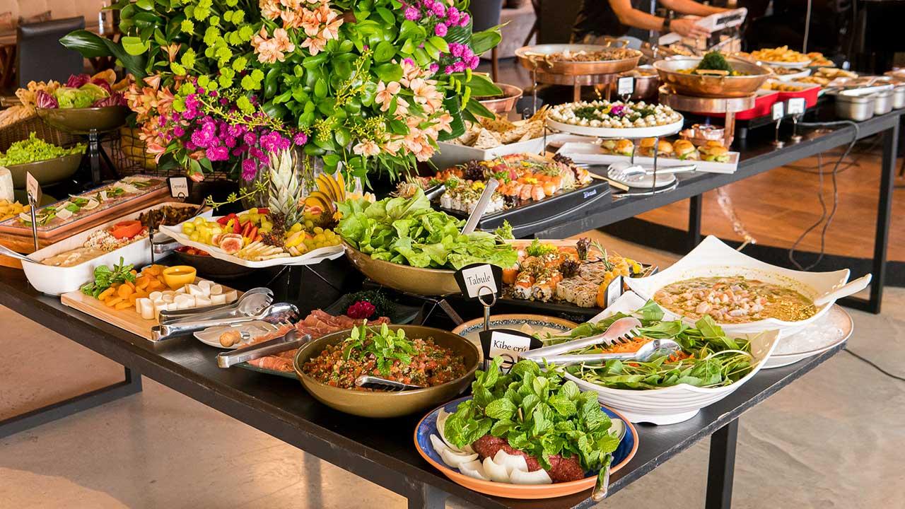 Buffet Complexo Gastronômico. Foto: Thiago Bueno