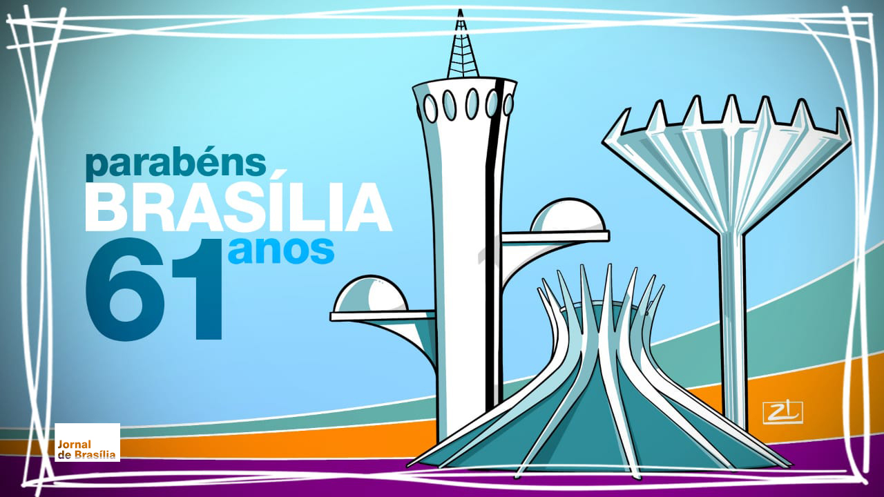 Brasília 61 anos