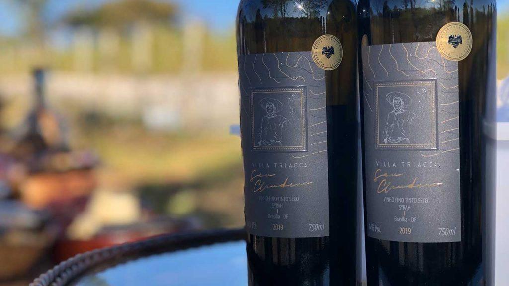 Seu Claudino: O primeiro vinho 100% brasiliense