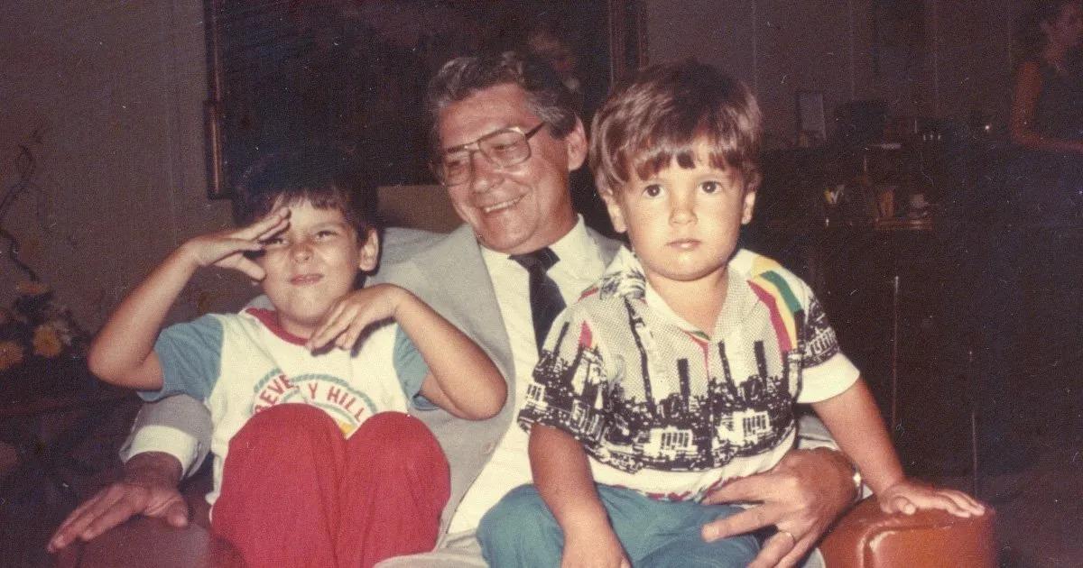 Mário Covas e Bruno Covas