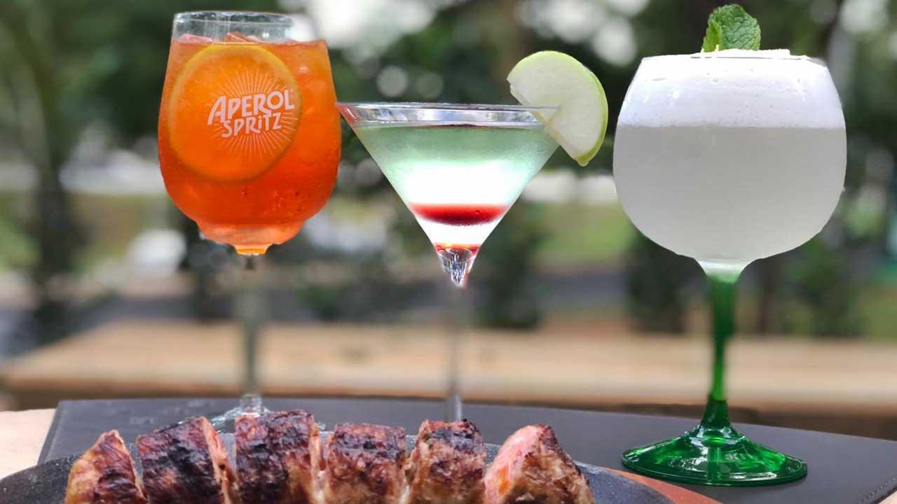 Dia Nacional do Cocktail: três drinks para você celebrar a data em grande estilo no Fuego, um dos melhores restaurantes de Brasília