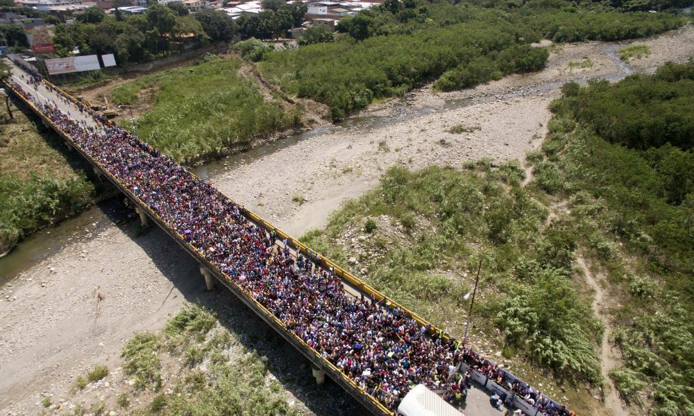 fronteira venezuela e colombia