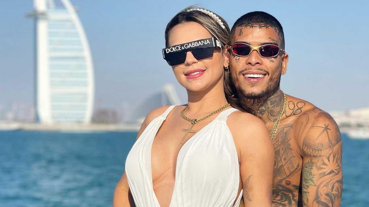 Deolane Bezerra e MC Kevin. Foto: Reprodução/Instagram