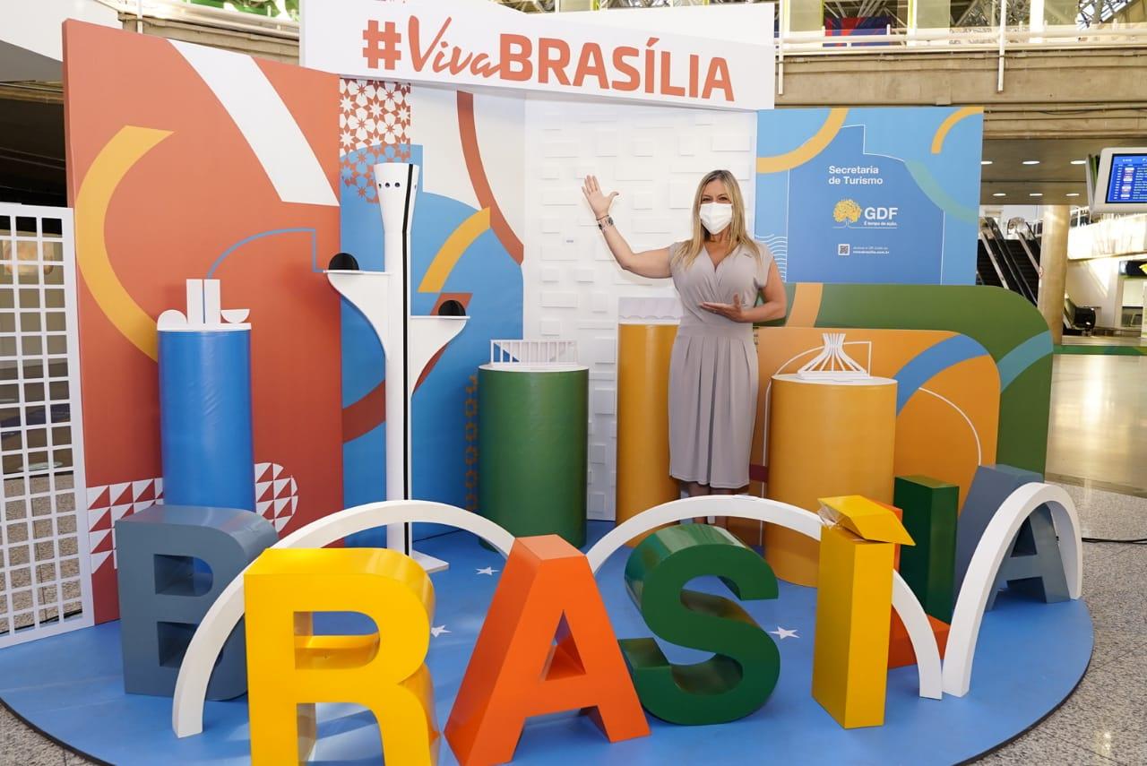 Secretária de Turismo do DF Vanessa Mendonça. Foto: Cláudio Gerber/Setur-DF