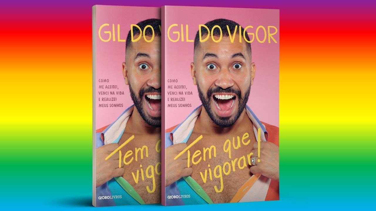 Livro de Gil do Vigor, do BBB21, está disponível em E-book na TIM
