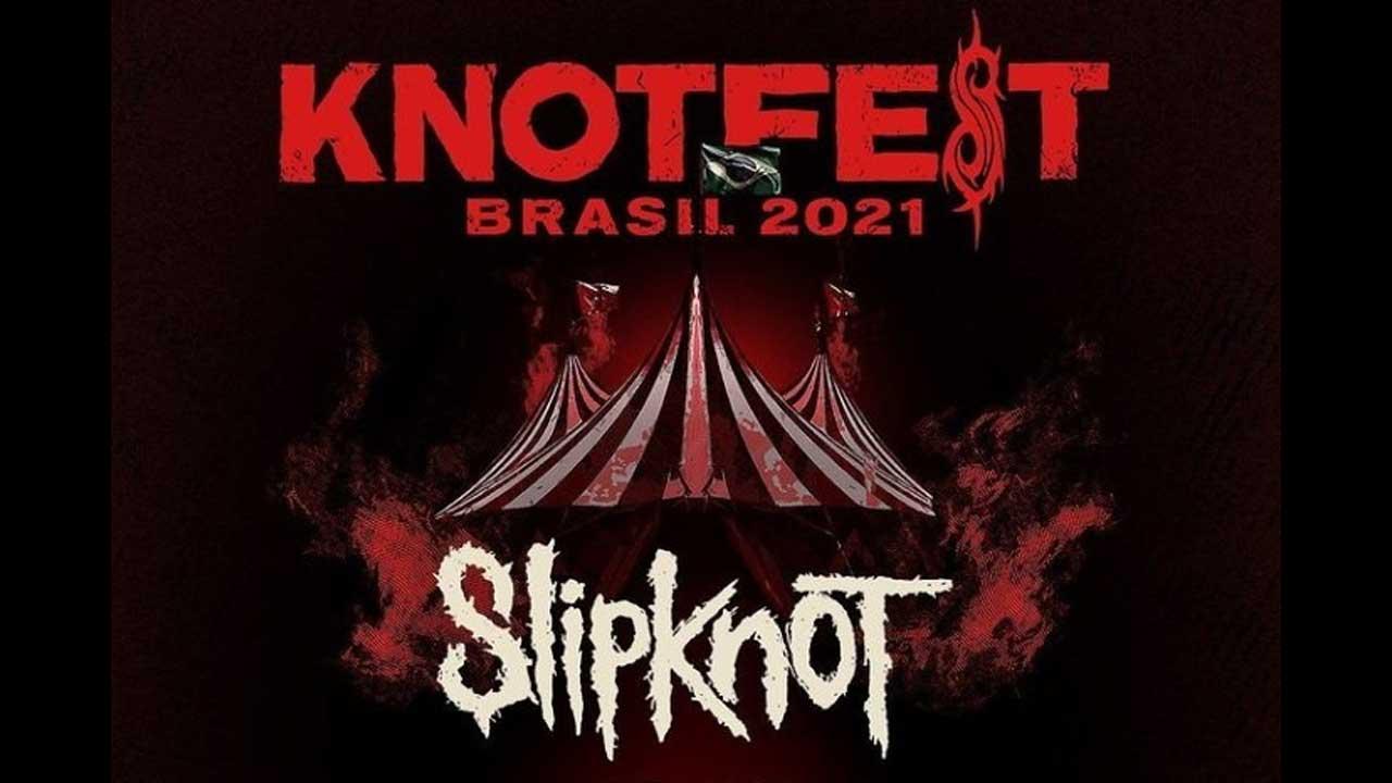 Knotfest Brasil adia primeira edição do festival para 2022