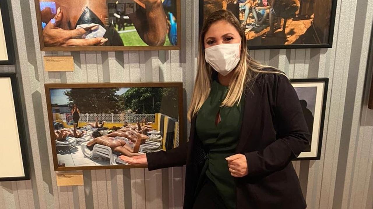 O bronze na laje, de Erika Bronze, virou exposição de arte no Museu de Arte Moderna no Rio de Janeiro