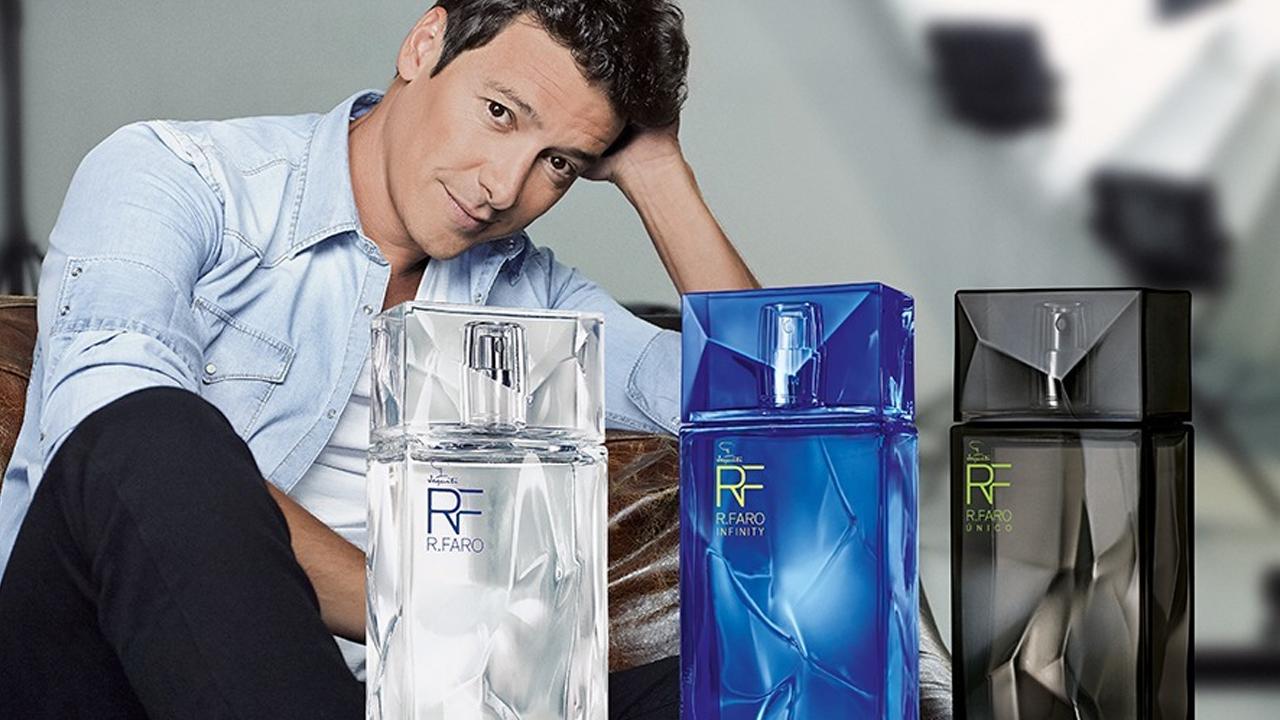 Funcionário do Silvio Santos, Rodrigo Faro vende mais de 2 milhões e meio de perfumes