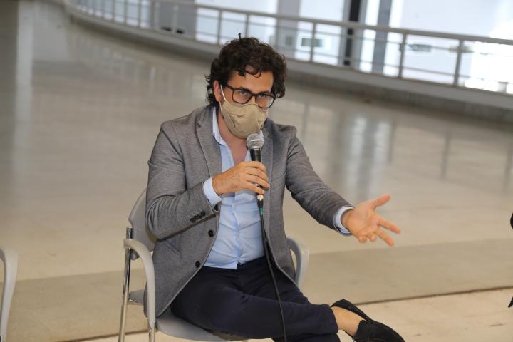 Dimitri Lociks, designer premiado no exterior: união a favor da nova W3. Foto: Aurélio Pereira / Setur-DF