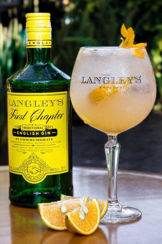 Manzuá - Gin tangerina e tônica