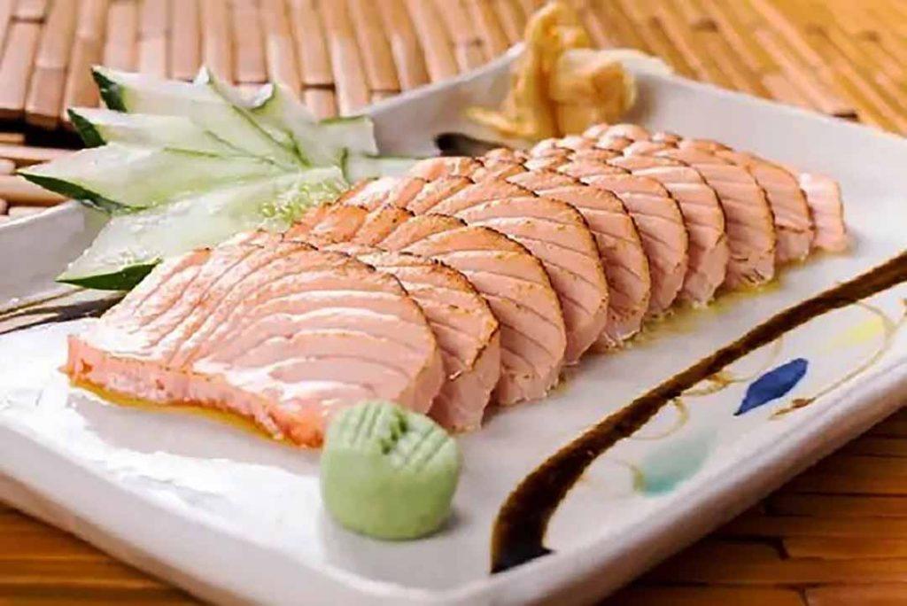 Haná - Sashimi macaricados