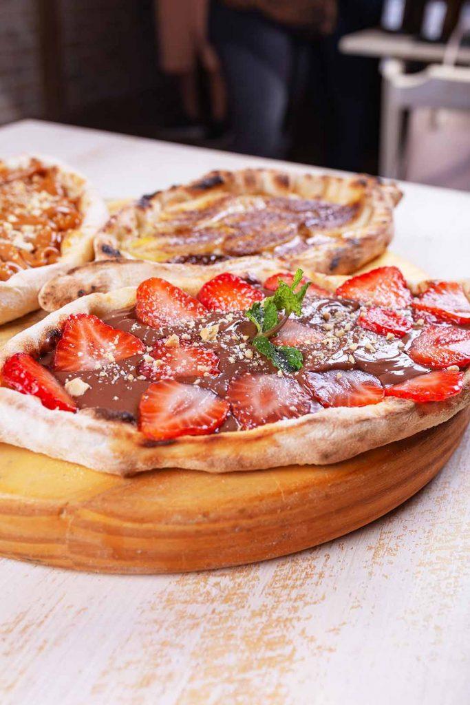 Grano de Oliva - Katcha de Nutella com Morangos. Foto: Rômulo Juracy