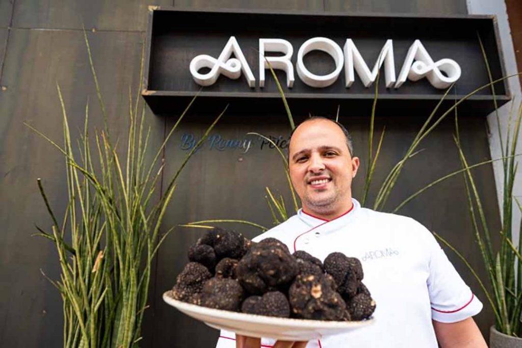Chef Ronny Peterson. Foto: Divulgação