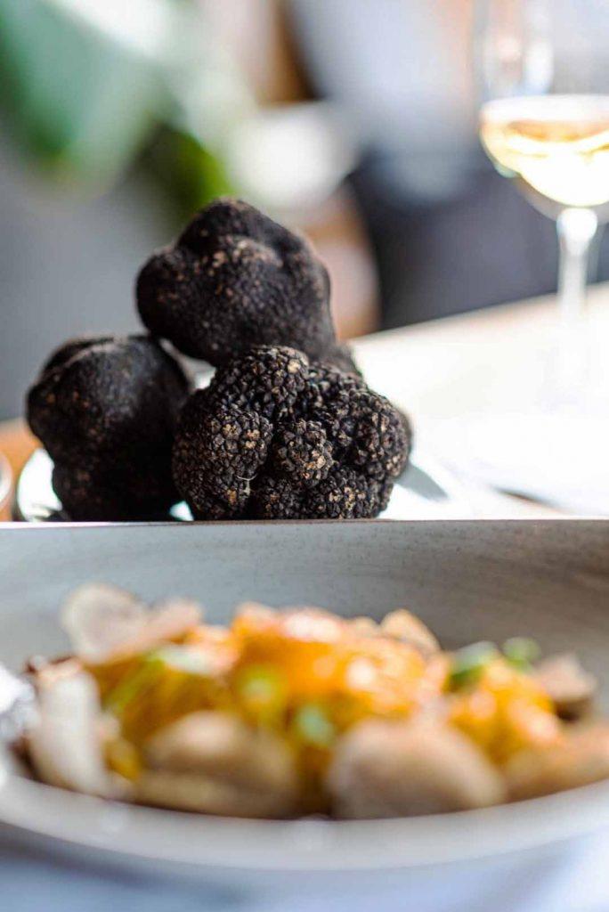 Pratos preparados especialmente para destacar o sabor inigualável das trufas. Foto: Divulgação
