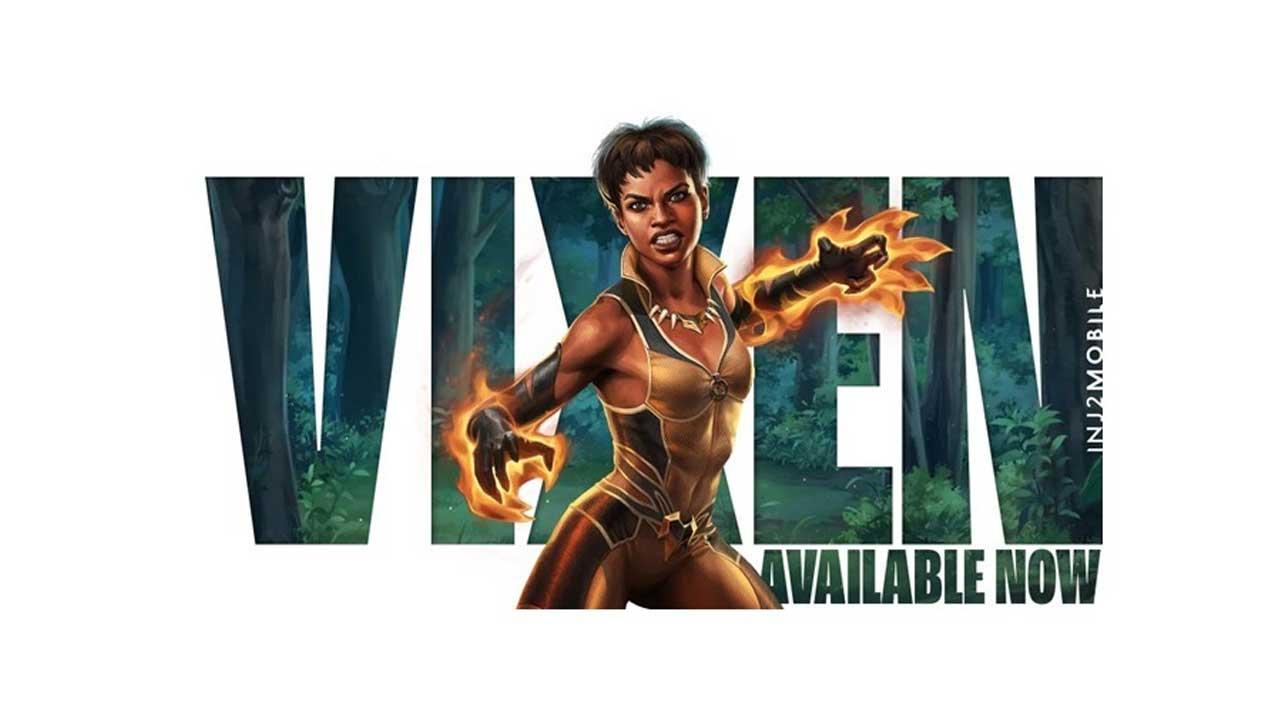 Vixen é o novo personagem do jogo Injustice 2 Mobile