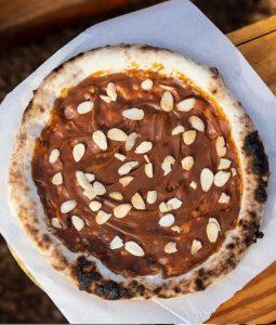 Pizza de Nutella - Wine Garden