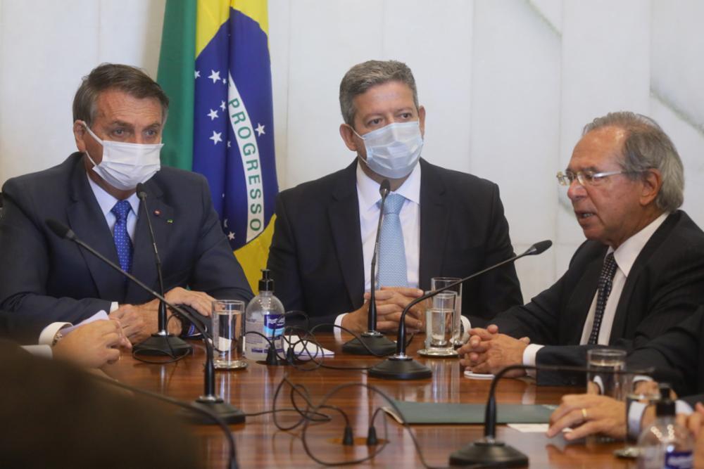Bolsonaro, Lira e Guedes
