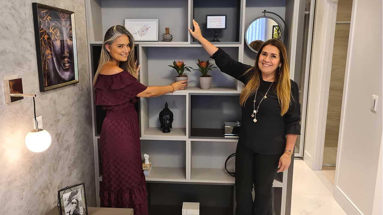 Lindo apartamento decorado para homenagear Lara Carvalho. Foto: Henrique Kotnick/Jornal de Brasília