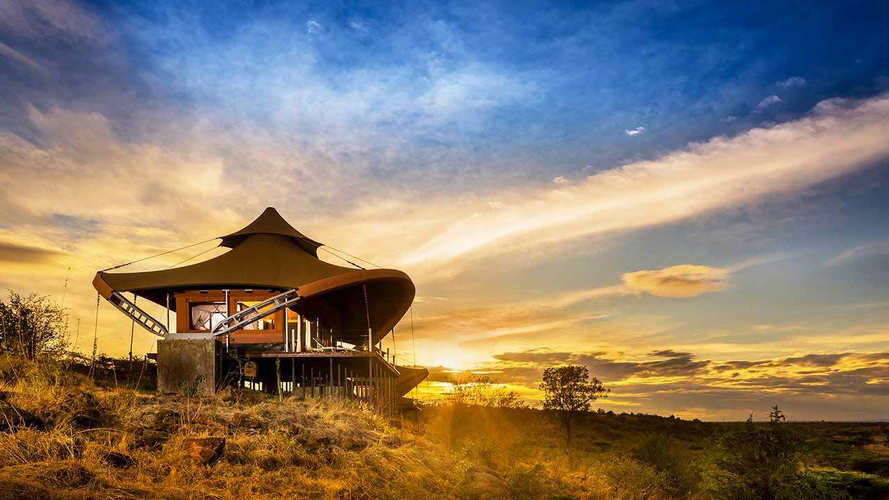 Mahali Mzuri: Safári no Quênia de Richard Branson é eleito o melhor hotel do mundo