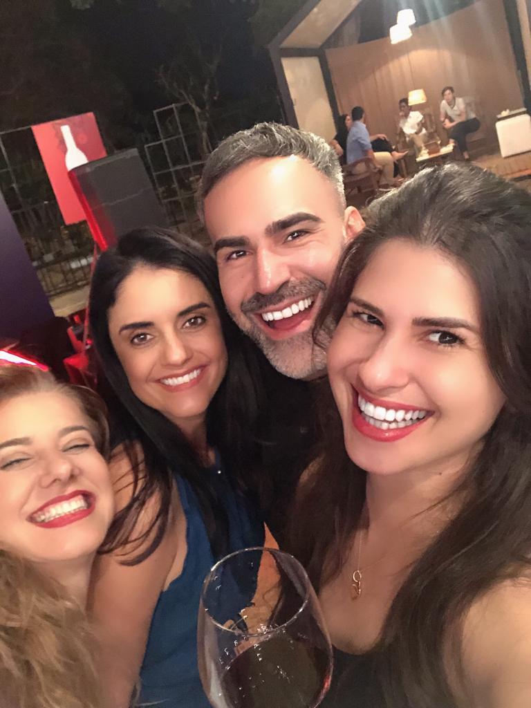 Chef Leninha Camargo, Vivi Campos, Thiago Malva e Dai Nasteoli. Foto: Arquivo Pessoal
