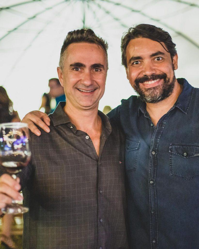 Rodrigo Gerhard e Carlos Grillo. Foto: Arquivo Pessoal