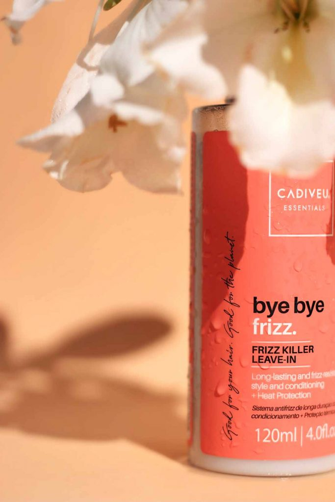 Linha Cadiveu Essentials Bye Bye Frizz. Foto: Divulgação